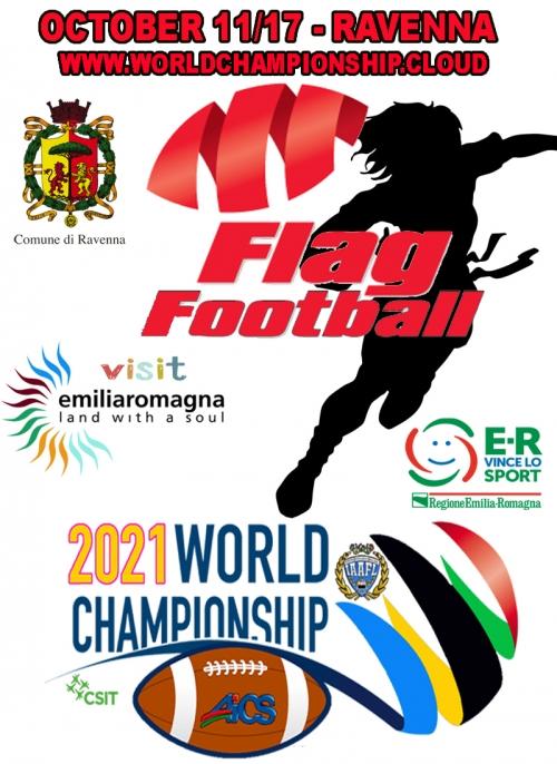 WORLD CHAMP 2021 FLAG FOOTBALL