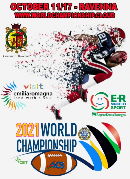 WORLD CHAMP 2021 TACKLE FOOTBALL